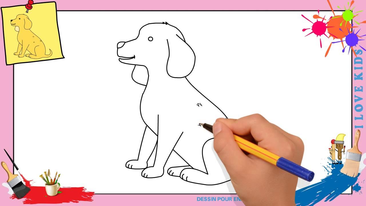 Coloriage Chien Lhassa Apso.Dessin Chien 3 Comment Dessiner Un Chien Facilement Etape Par