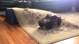 Tamiya DF03ra REMIXed to SCALE HPI 4X4 TRUCK WHAT!! Thumbnail