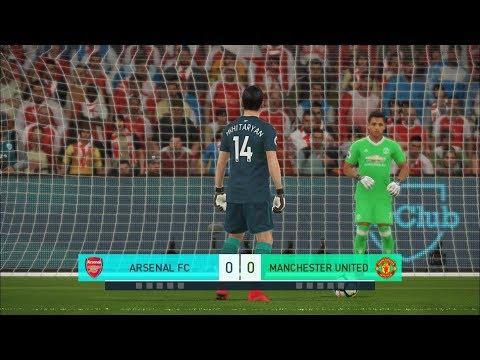 Goalkeeper Mkhitaryan Vs Goalkeeper Alexis Sanchez I PES 2018 Penalty Shootout