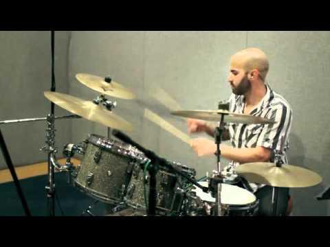 Elliott Lopes Cirque Du Soleil Drum Set Audition (Icarians)