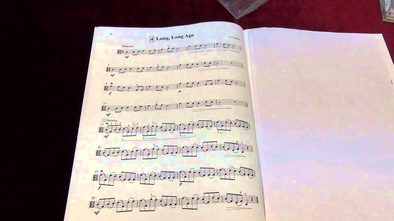 1 ♫ ♫ Suzuki Viola School ♫ Viola part Vol
