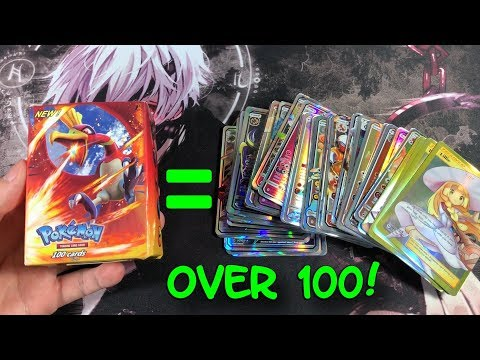 I PULLED 100 ULTRA RARE POKEMON CARDS IN THIS NEW BOX!