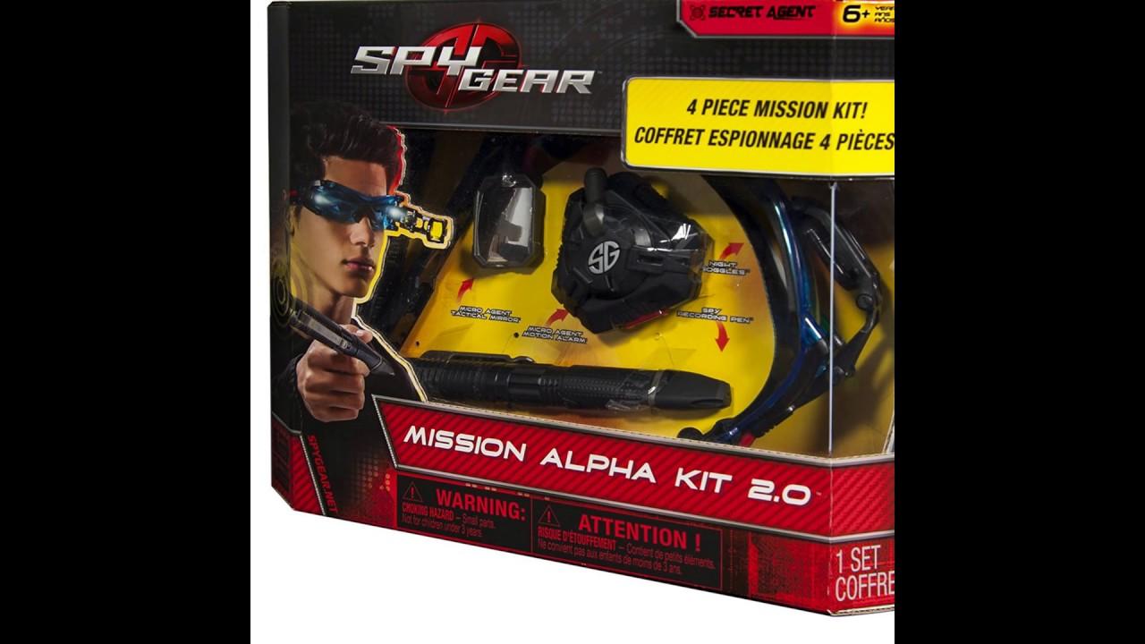 Spy Gear Mission Alpha Set