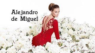 Vestidos de madrina y fiesta colección 2018 Alejandro de Miguel