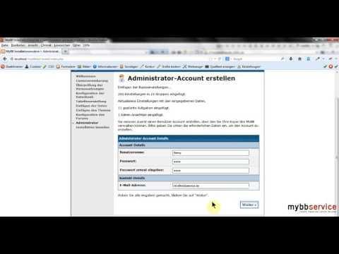 MyBB lokal installieren und nutzen mit XAMPP
