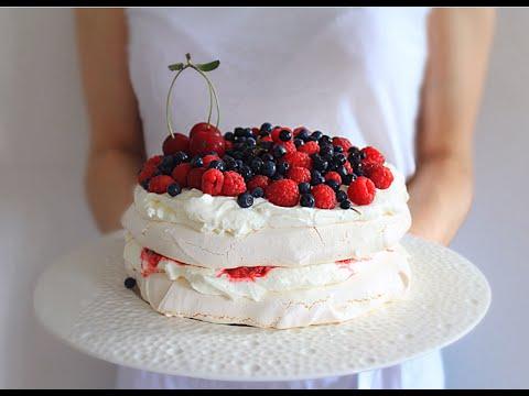 Мини торт павловой