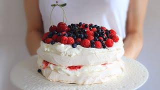 Торт Павлова / Pavlova Cake