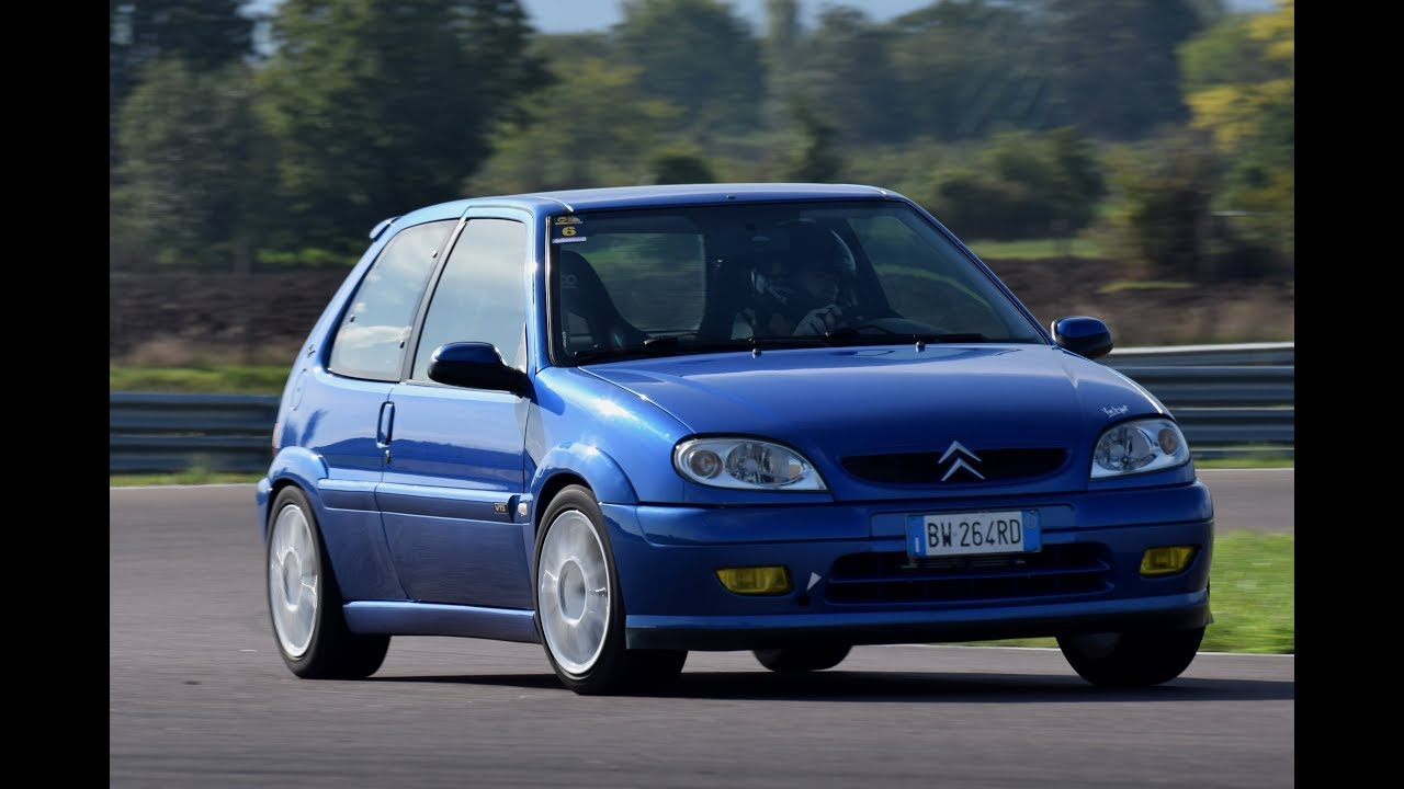 citroen saxo vts action on track on board youtube. Black Bedroom Furniture Sets. Home Design Ideas