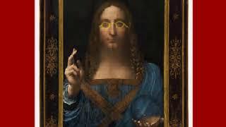 史上最高額で売れたダ・ビンチの絵画「サルバトール・ムンディ」に丸型...