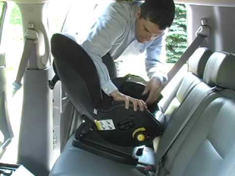 Car Seat Installation Evenflo Triumph Advance Rear Facing