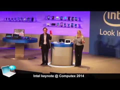 Intel keynote @ Computex 2014 - Core M (Broadwell), SoFIA, Devil's Canyon