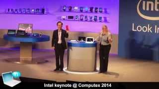 Intel keynote @ Computex 2014 - Core M (Broadwell), SoFIA, Devil