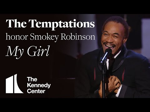 The Temptations - My Girl (Smokey Robinson Tribute) - 2006 Kennedy Center Honors