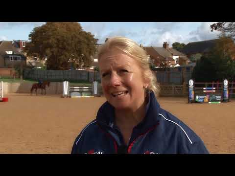Young Horse Showjumping Training Part 1