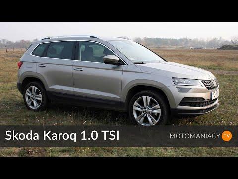 Skoda Karoq 1.0 TSI, 115 KM, MT 6 TEST PL test, prezentacja, pierwsza jazda motomaniacy.tv