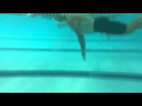 Progressive Endurance - John Trame swim stroke side view