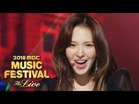 Red Velvet - RBB [2018 MBC Music Festival]