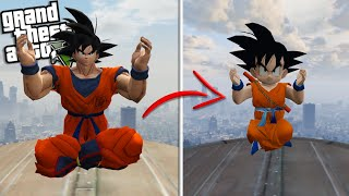 KID GOKU from DRAGON BALL Z is REBORN (GTA 5 Mods)
