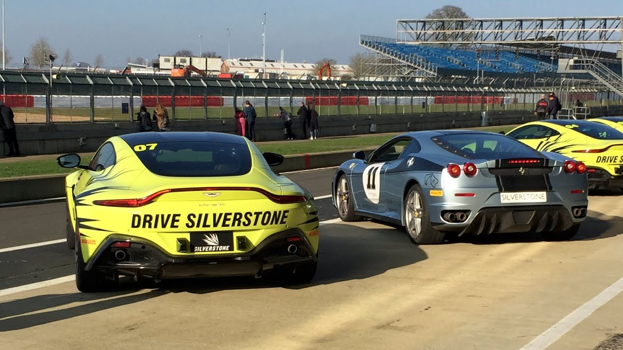 Driving The New Aston Martin Vantage At Silverstone Part 1 360 Video Youtube