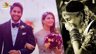 Gambar cover Samantha CRIES after Naga Chaitanya Ties the Knot   Marriage Video and Pics