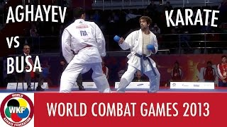 Download Video Karate Men's Kumite -75kg. AGHAYEV vs BUSA. World Combat Games 2013 MP3 3GP MP4