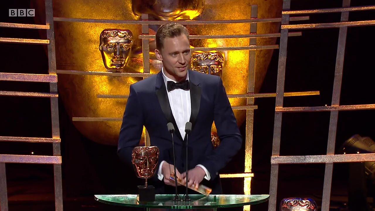 Tom Hiddleston At BAFTA TV Awards 2016