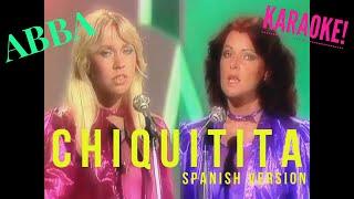 Chiquitita, ABBA, Karaoke (-5), Spanish Version, En Español