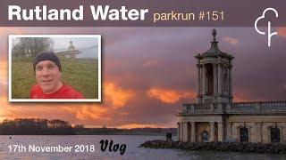Rutland Water Parkrun #151 - 17.11.2018 - Vlog