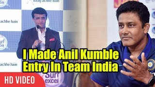Anil Kumble Was Not Getting Selected In The Team | Stories Of Indian Cricket By Sourav Ganguly