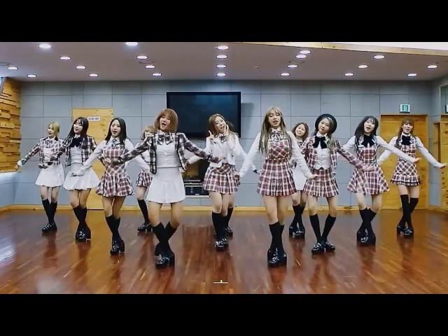WJSN (Cosmic Girls) 'I Wish' mirrored Dance Practice