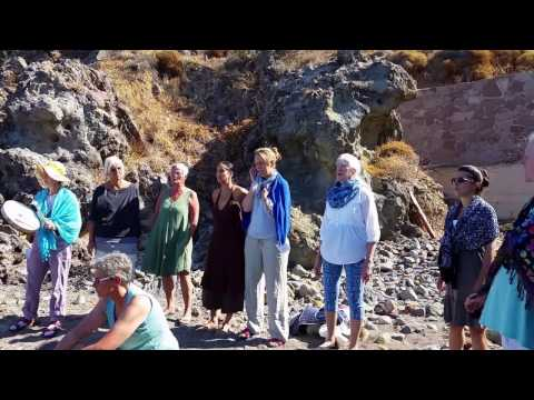 Singen in Eftalou, Lesbos