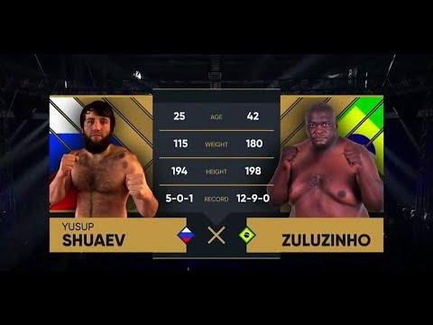 БОЙ ГИГАНТОВ! Юсуп Шуаев vs. Зулузиньо / Yusup Shuaev vs. Zuluzinho