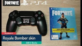 DualShock 4 - Fortnite promotion - Royale Bomber - 500 V-Bucks