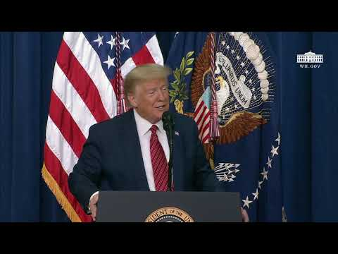 President Trump Delivers Remarks to National Border Patrol Council Members