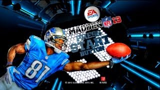 Madden 13 - Madden 13 Demo DOWNLOAD IT NOW! - Demo Menu & Features