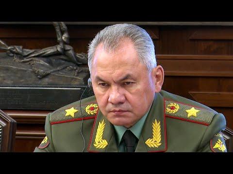 Глава Минобороны Сергей Шойгу: Отношения России и Китая вступают в новую стадию развития.