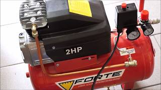 обзор компрессора FORTE FL-24