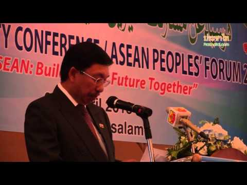 ACSC/APF2013 - Brunei Minister: Active involvement of civil society needed