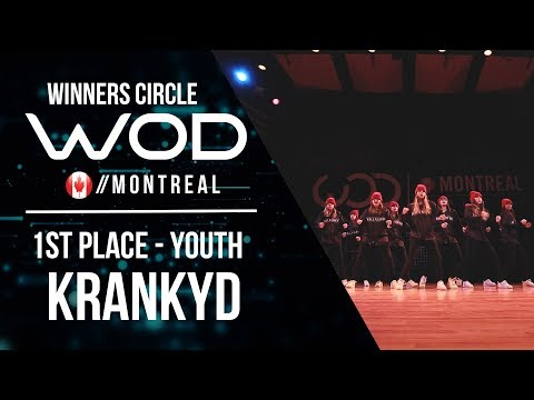 KRANKYD | 1st Place Youth | World of Dance Montreal Qualifier 2017 | Winners Circle | #WODMTL17