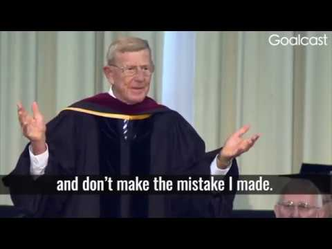 Lou Holtz inspirational speech