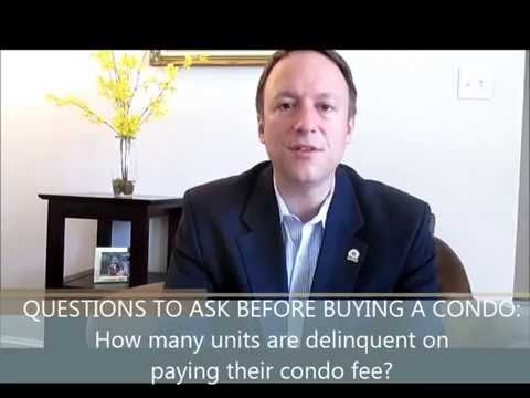 #8 Questions You Must Ask Before Buying a Condo: How many are delinquent with their condo fee?