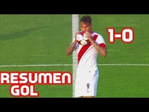 Перу - Парагвай 1:0 видео