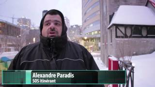 SOS at City Hall - Montreal Homeless Advocates Meet with Coderre