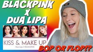 Blackpink X Dua Lipa Kiss And Make Up LIVE REACTION (must watch!) mp3