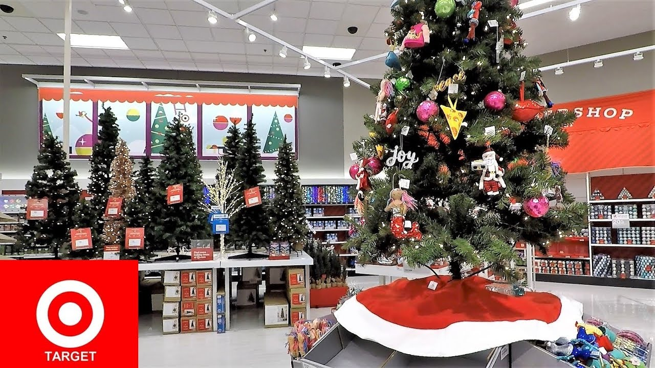 TARGET CHRISTMAS COMPLETE SECTION - CHRISTMAS TREES ...