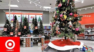 TARGET CHRISTMAS COMPLETE SECTION - CHRISTMAS TREES SHOPPING ORNAMENTS DECORATIONS HOME DECOR
