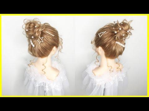 Tóc cô dâu 2020 | Kiểu Tóc Búi Cao Cho Cô Dâu Đẹp Đơn Giản | Tóc Búi Cao Đẹp | Wedding Hairstyles
