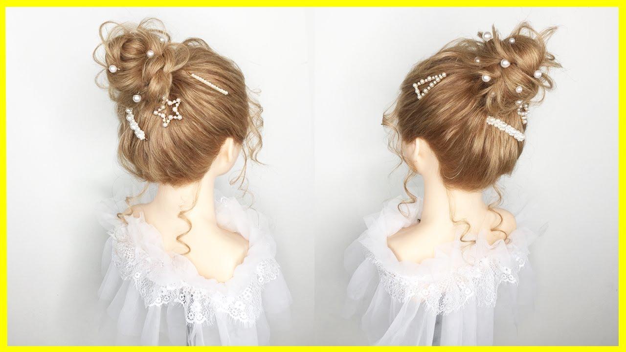 Tóc cô dâu 2020 | Kiểu Tóc Búi Cao Cho Cô Dâu Đẹp Đơn Giản | Tóc Búi Cao Đẹp | Wedding Hairstyles | Tổng hợp các thông tin liên quan cach cot toc cao dep mới cập nhật