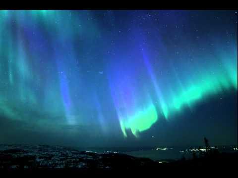 Northern Lights in Trondheim, Norway