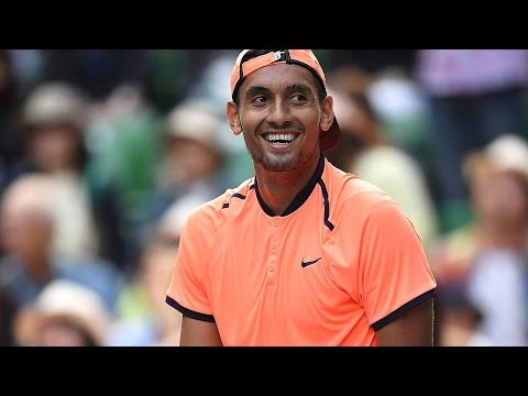 Kyrgios Gets Clever In Tokyo 2016 Hot Shot